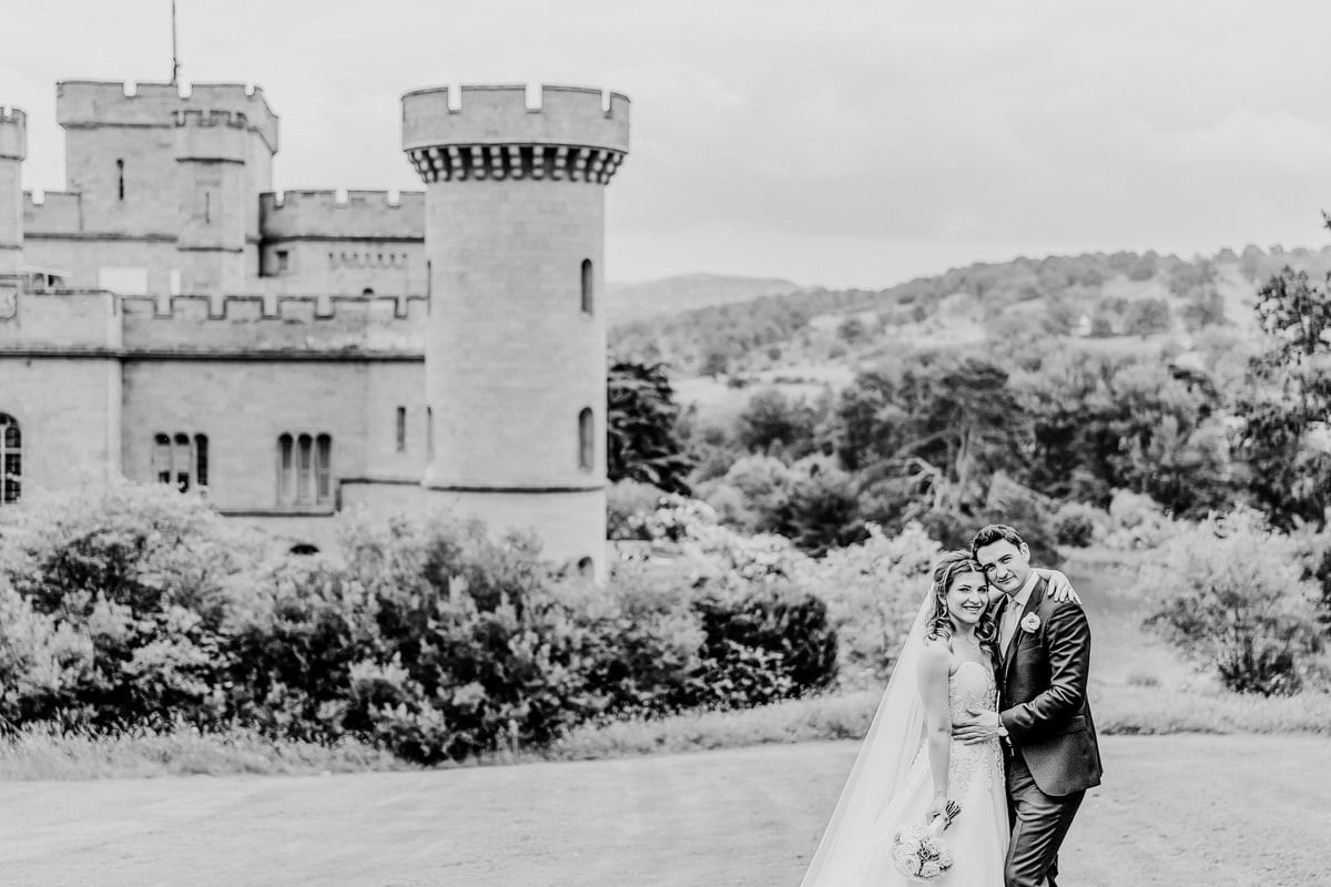 Eastnor Castle Wedding - Ilona + Shane 64