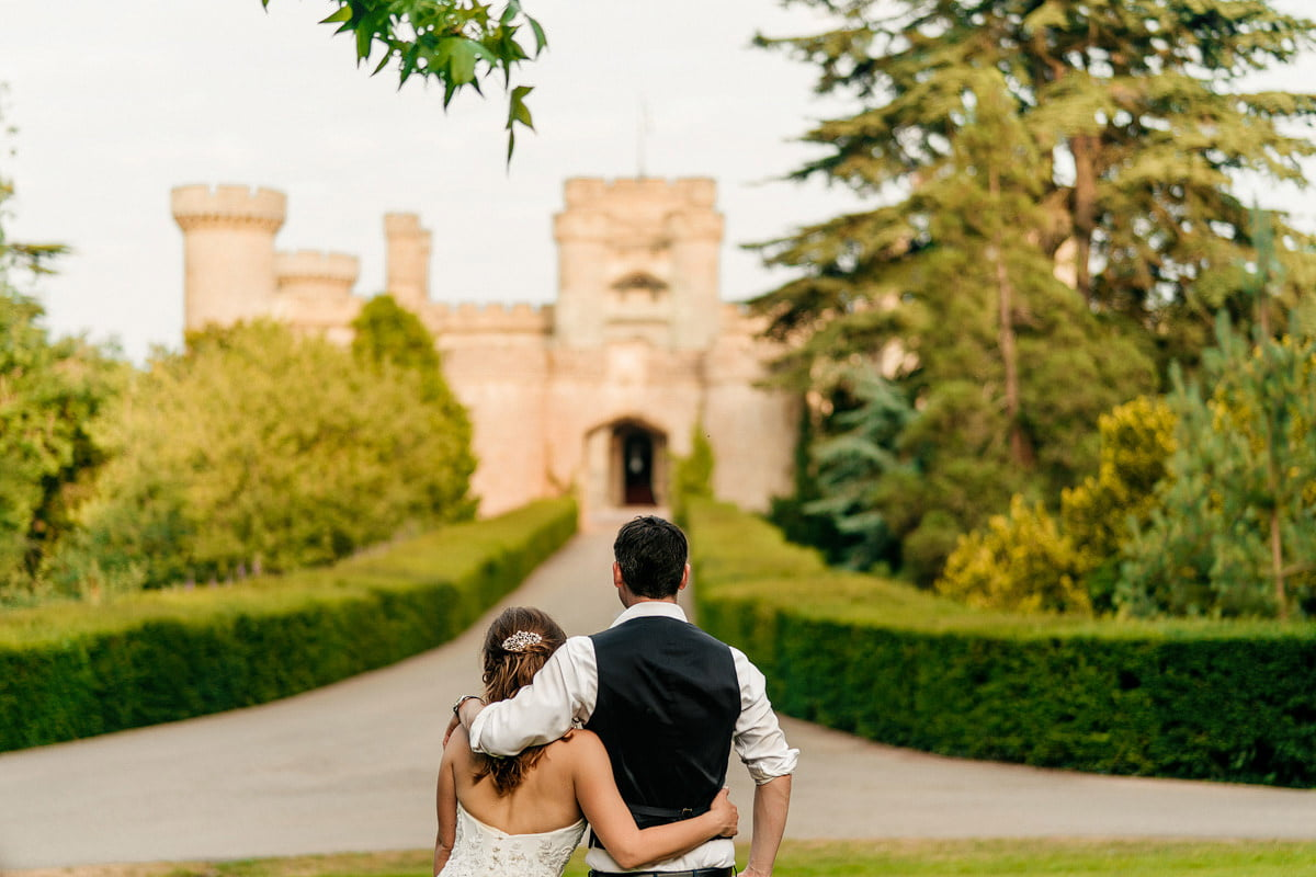 Eastnor Castle Wedding - Ilona + Shane 62