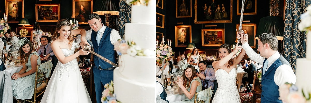 Eastnor Castle Wedding - Ilona + Shane 77
