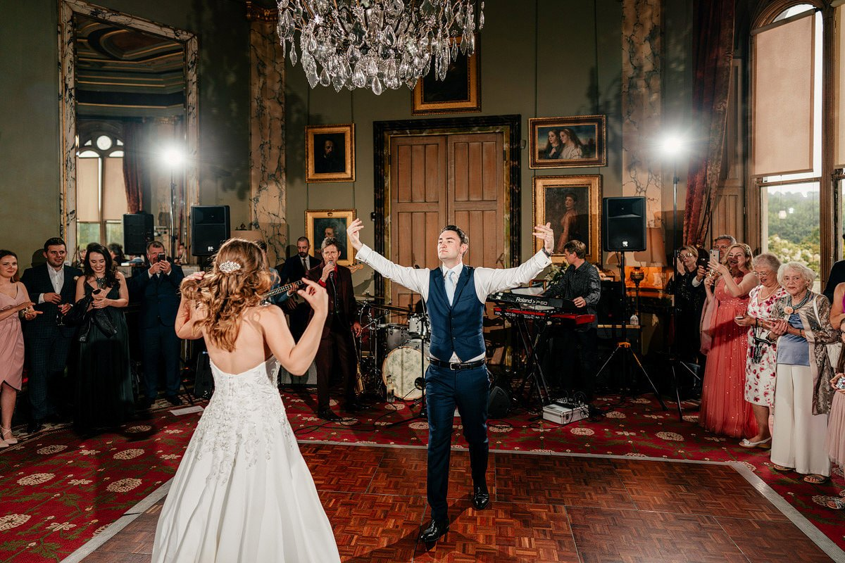 Eastnor Castle Wedding - Ilona + Shane 79
